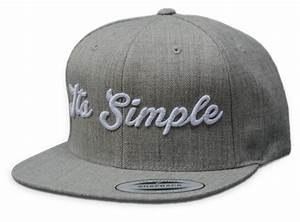 3D Cap Embroidery - Custom 3D Embroidered Caps