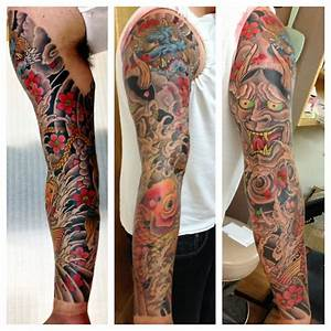 japanese tattoos sleeves | Tattoo Love