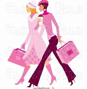 Ladies Shopping Free Clipart (26+)
