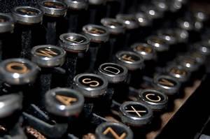 Antique Typewriter Keys Free Stock Photo - Public Domain ...