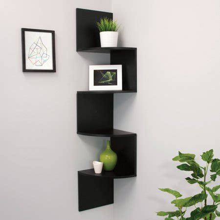 black corner shelf az trading provo black corner shelf with 4 shelves