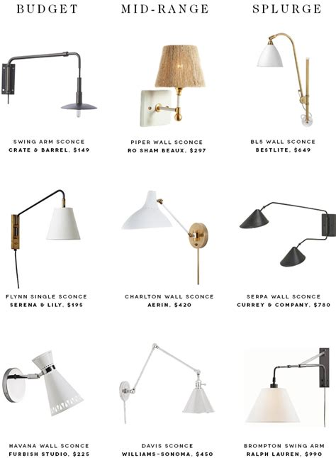 Bedside Sconces by 9 Bedside Sconces To Brighten Up Your Nighttime Reading