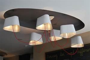 Grand Lustre Design : lustre grand nuage par herv langlais blog esprit design ~ Melissatoandfro.com Idées de Décoration