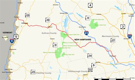 New Hampshire Route 103 Map.svg