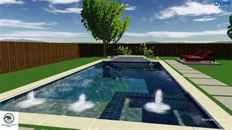 custom swimming pools dallas tx formal diving pool youtube