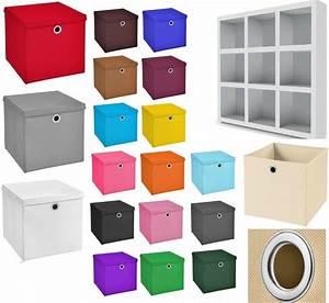 Aufbewahrungsbox Mit Deckel Stoff : faltbox aufbewahrungsboxen deckel korb einschubkorb faltboxen kinder box boxen ebay ~ Watch28wear.com Haus und Dekorationen