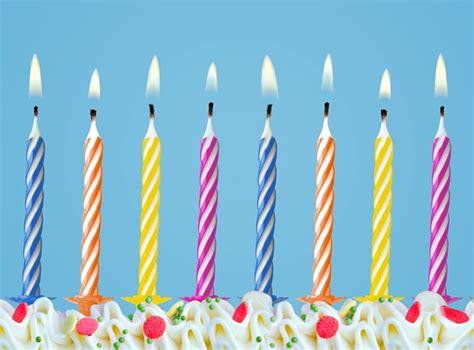 10x bougie d anniversaire multicolore pour g 226 teau