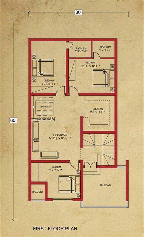 house floor plan  marla house plan  bahria town lahore