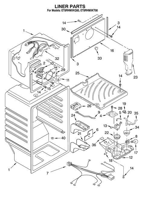refrigerators parts  refrigerator parts