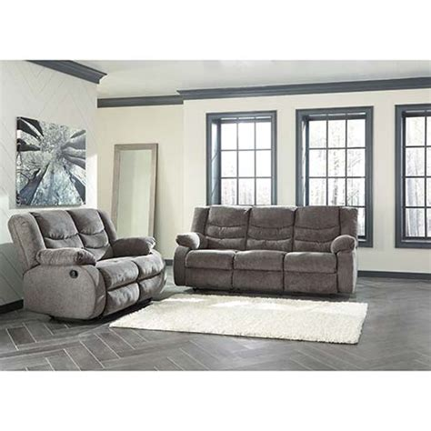 Living Room Furniture At Rent A Center by Quot Tulen Gray Quot Reclining Sofa And Loveseat