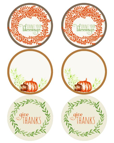 thanksgiving holiday label printables worldlabel blog