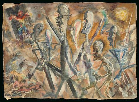 George Grosz (1893-1959) , Marching Stickmen | Christie's