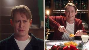 Guy Lights Macaulay Culkin Reprises Role As Kevin Recreates Iconic