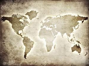 Tapisserie Carte Du Monde : papier peint carte du monde sur le papier pixers nous vivons pour changer ~ Teatrodelosmanantiales.com Idées de Décoration