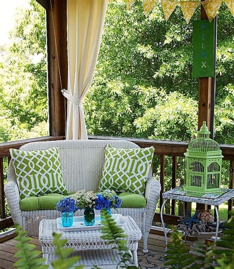 Screened In Front Porch Decorating Ideas by 36 Joyful Summer Porch D 233 Cor Ideas Digsdigs