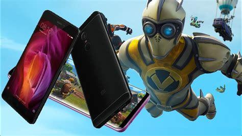 fortnite android  xiaomi redmi note  mobile arena