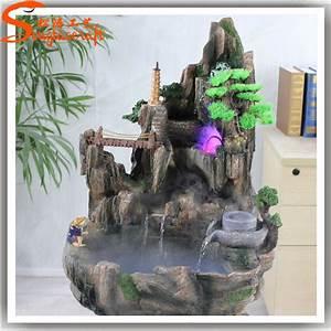 Made In China Fiberglass Rock Waterfall Artificial Rock
