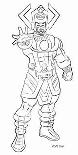 Galactus Hulkdaddyg Quirt sketch template