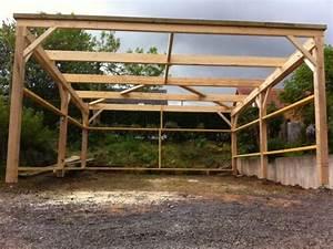 Construire Un Carport : appentis carport fh construction ~ Premium-room.com Idées de Décoration