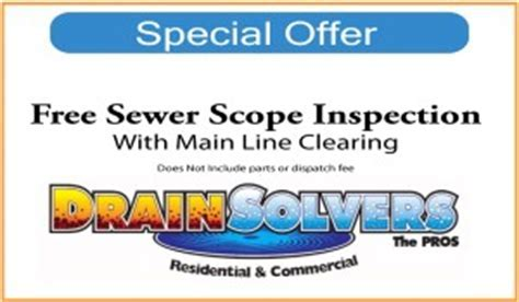 Denver Drain Cleaning   Sewer   Drain Solvers the pros