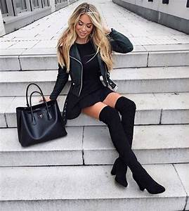 Looks de vestido con botas para el invierno 2017 u2013 2018 - trucosymanualidades.com