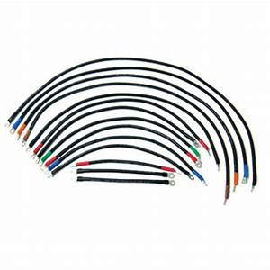 E-z-go Electric 4-gauge Heavy-duty Weld Cable Set  Fits 1988-1994