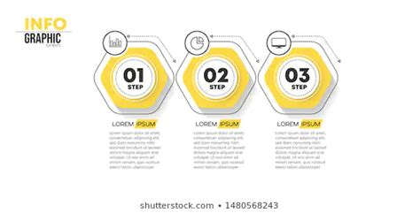 Vector Illustration Infographic Design Template Icons