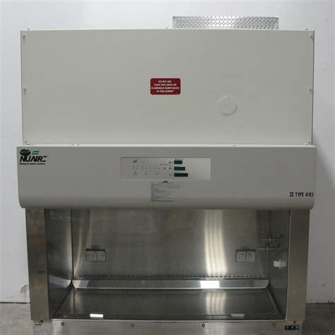 nuaire biological safety cabinet refurbished nuaire nu 440 400 type a b3 biological safety