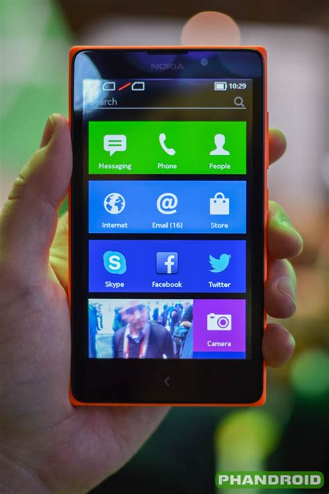 nokia android apps xl phone ported