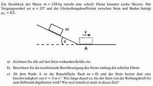 Stern Berechnen : steinblock rutscht eine schiefe ebene runter mathelounge ~ Themetempest.com Abrechnung