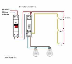 Schema Telerupteur Legrand : schema electricite batiment telerupteur tuto symp ~ Dode.kayakingforconservation.com Idées de Décoration