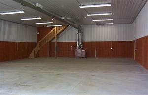 Interior design finished pole barn interiors decor idea for Pole barn garage interior ideas