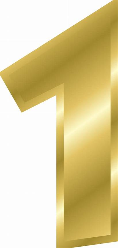 Number Clipart Yellow Clip Numbers Transparent Magazine