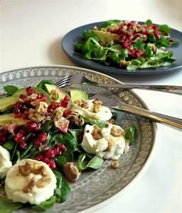 Salat Mit Ziegenkäse Und Honig : avocado ziegenk se salat mit granatapfel twinfit ~ Lizthompson.info Haus und Dekorationen