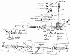 Toyota Rack Pinion Diagram