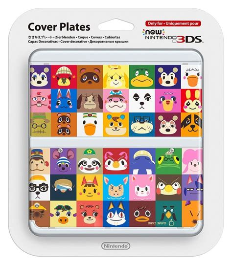 new 3ds cover plates new nintendo 3ds cover plates animal crossing nintendo