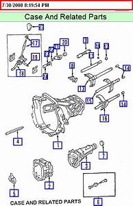 Manual Transmission Diagram 4 Kia Sportage 2001 5 Speed