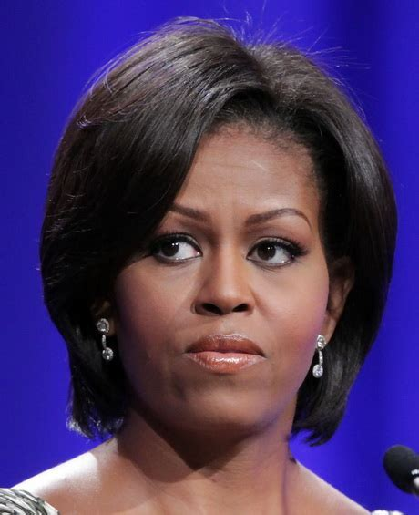 Pictures Of Michelle Obama New Haircut Hairstyle Gallery