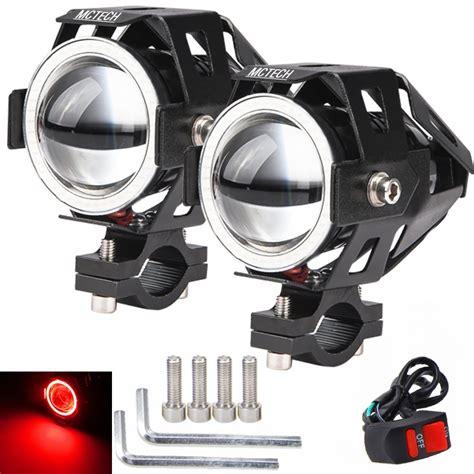 led zusatzscheinwerfer motorrad 2x motorrad led cree u7 le licht zusatzscheinwerfer
