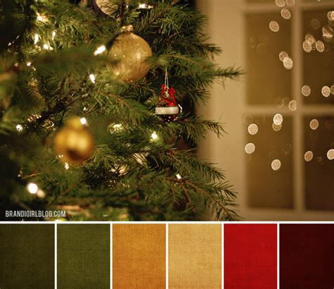 christmas color schemes beads of clay blog color inspirations december