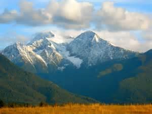 St. Ignatius Montana Mountains