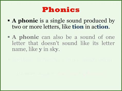 What Are Phonics? Youtube