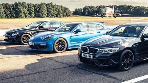 Bmw M5 Vs by Bmw M5 Vs Mercedes Amg E63 S Vs Porsche Panamera Turbo S