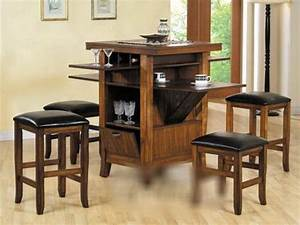 Choosing Counter Height Kitchen Table Set Modern Vanity Desk Saves Space