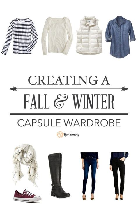Building A Wardrobe by Simplify The Closet Building My Fall Winter Capsule