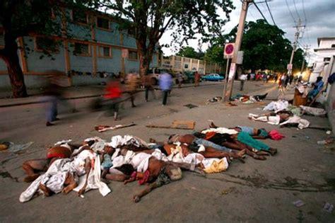 des milliers de morts en ha 239 ti suite au tremblement de