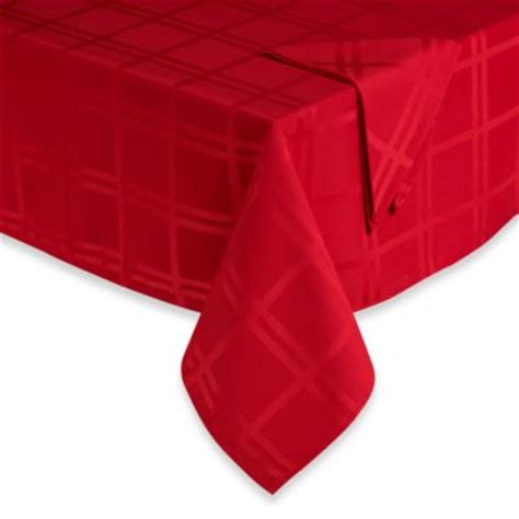 bed bath and beyond tablecloths buy holiday tablecloths round from bed bath beyond