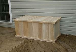 Joins: Outdoor wood storage box plans