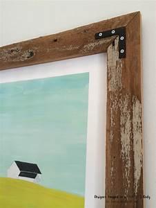 Remodelaholic diy rustic wood art frames