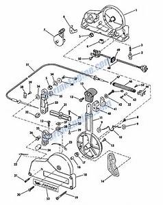 Remote Control Group Parts For 1965 40hp Rk